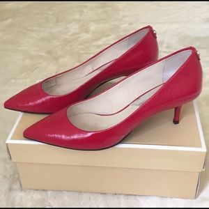 MICHAEL Michael Kors Shoes - Like New- Michael Kors Red Shoes 👠
